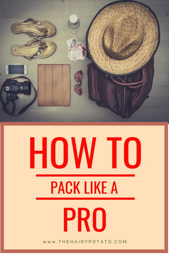 How to Pack Pinterest Image