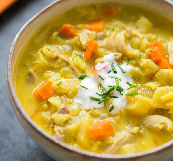 turkey mulligatawny soup
