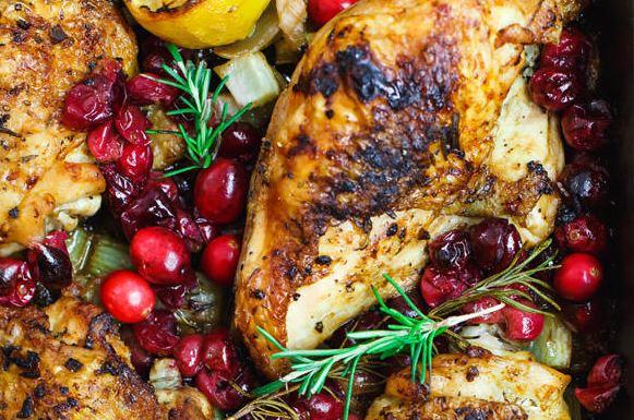 garlic chicken cranberries