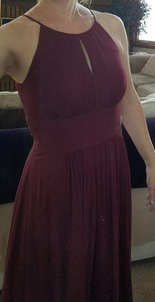 Azazie dress - TryingonFirstTime | www.thehairypotato.com