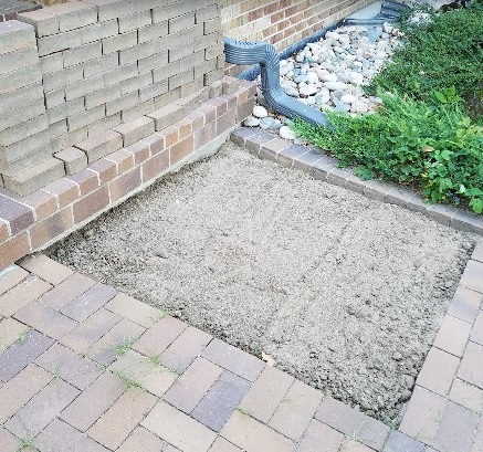 bricks removed | www.thehairypotato.com