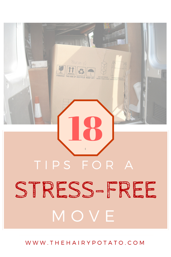 18 Tips for a successful move