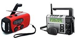 hand crank and two way radios