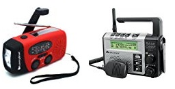 hand crank and two way radios