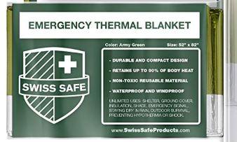 thermal survival blanket