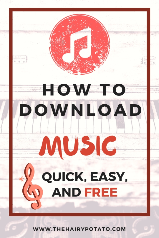 how to download music pin