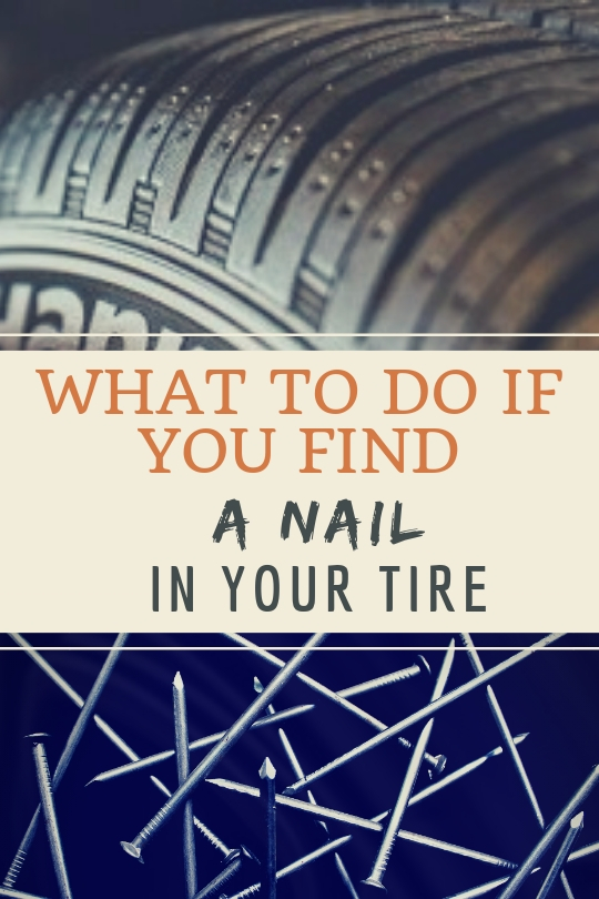 nail in tire what to do